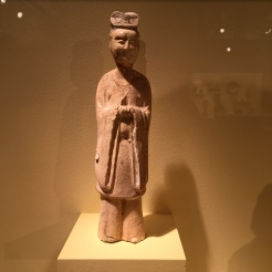 Tomb Figure Standing Attendant Tang, 618 - 906