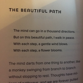 the beautiful path