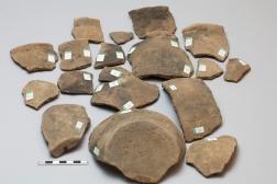 Jar in eighteen pieces