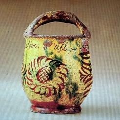 'Love is All' . bucket; 1760; donyatt, somerset