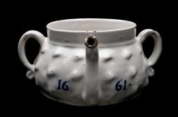 London Delft Posset Pot; 1661