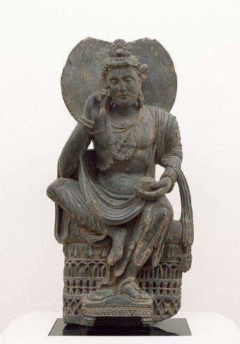 Artist : Title : Date : 3rd century Medium Description: grey schist Dimensions : Credit Line : Purchased 1997 Image Credit Line : Accession Number : 7.1997