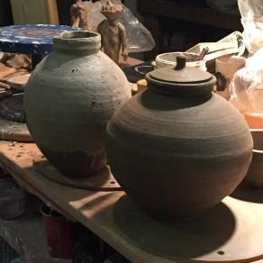 two jars