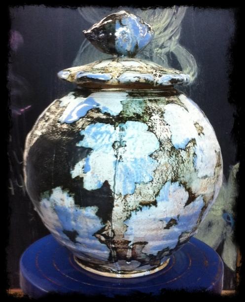 Steven Colby : potter tea jar, circa 2o1o.