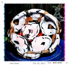 Steven Colby : potter bowl, circa 2o11