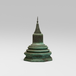 124_1_a_life_in_ruins_douglas_dawson_35_years_of_art_and_antiques_july_2017_votive_stupa__wright_auction