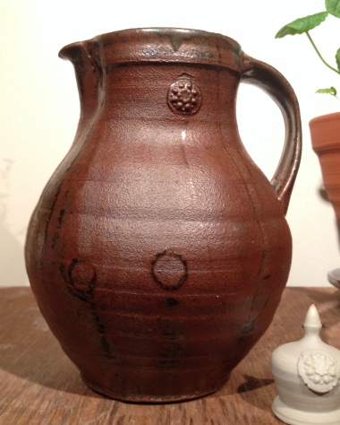 jug, stoneware; 2018
